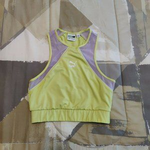 Puma Lime Green Summer Reload Tank Women's Size M